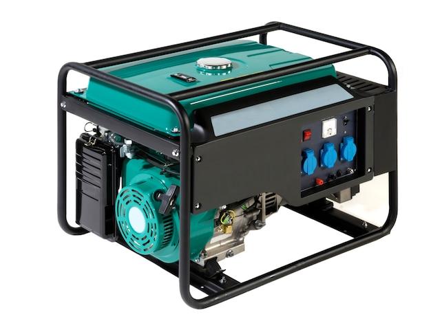 Портативный генератор энергии (топливо) Premium Фотографии