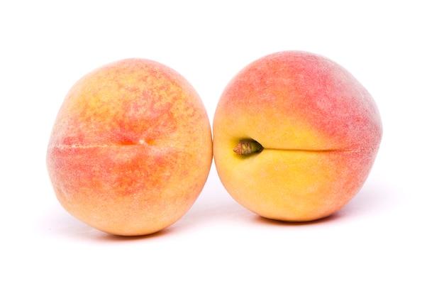 白のおいしい桃 Premium写真