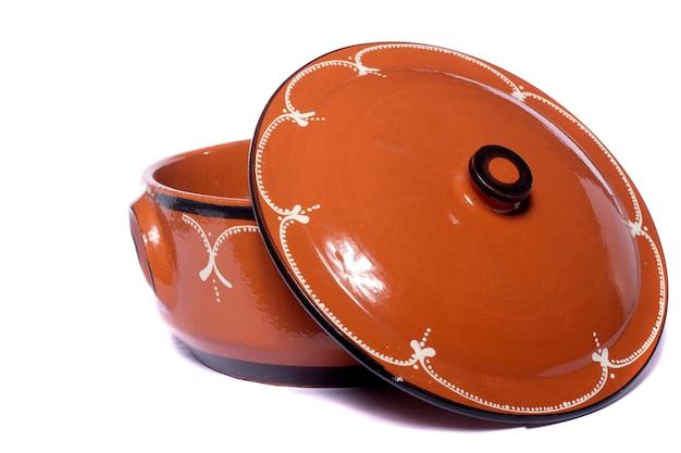 伝統的な粘土陶器 Premium写真