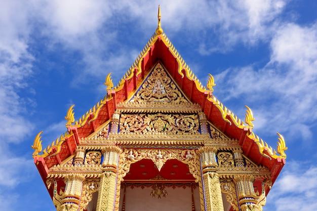 Храм ват тайский Premium Фотографии