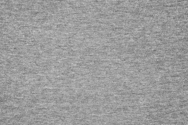 Серая трикотажная ткань текстуры фона. Premium Фотографии