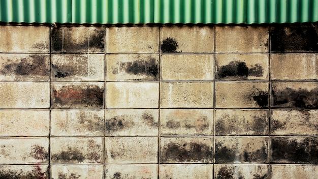 古いレンガのブロックの壁の背景 Premium写真