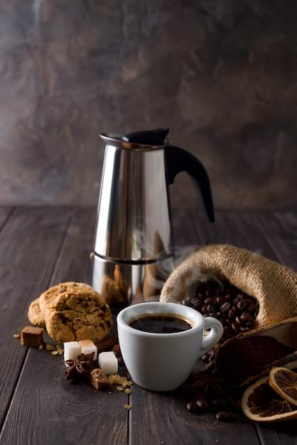 コーヒーコンセプト Premium写真