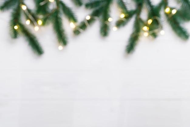 クリスマスまたは新年の背景 Premium写真