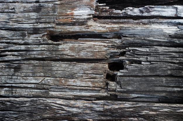 古いハード木のテクスチャの背景 Premium写真