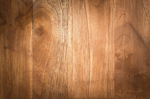 Старый гранж темный текстурированный фон древесины Premium Фотографии