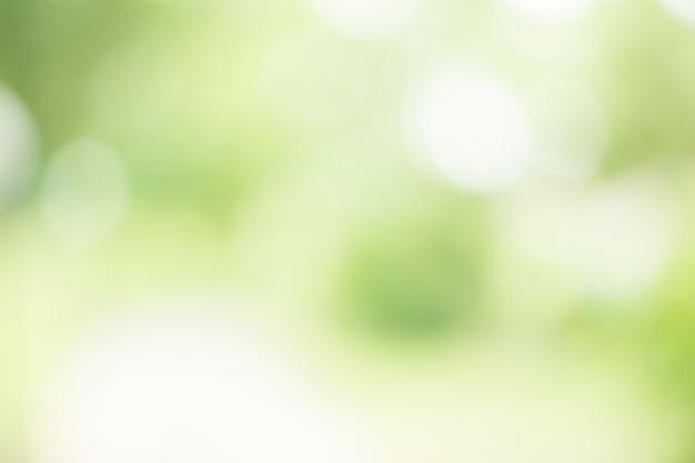 背景の抽象的なぼかし緑色 Premium写真