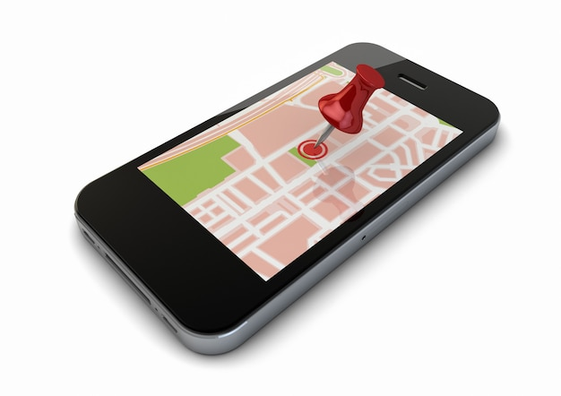 地図電話 Premium写真