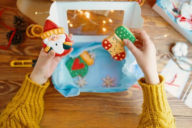 クリスマスプレゼント。 Premium写真