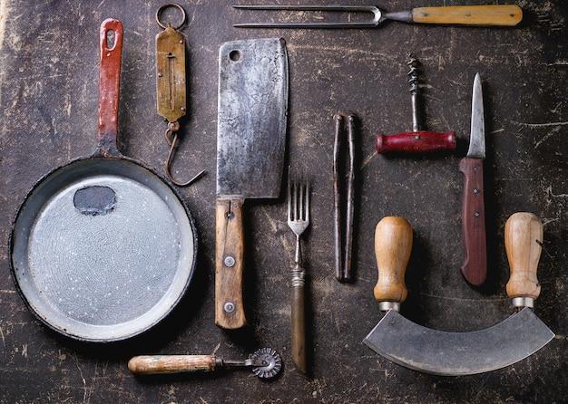 ヴィンテージ調理器具 Premium写真