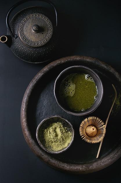 抹茶パウダー Premium写真