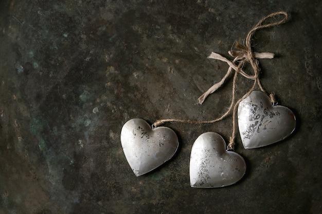 愛バレンタイングリーティングカード Premium写真