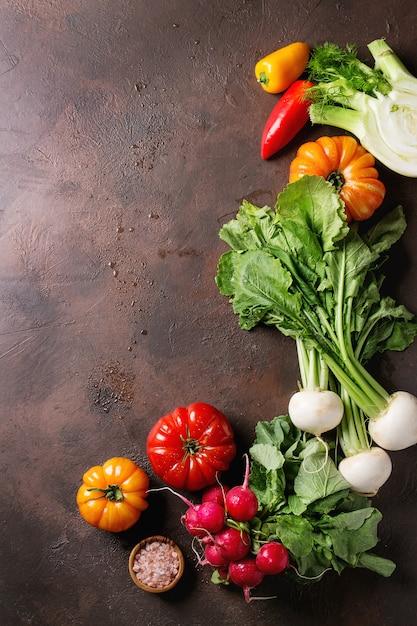 野菜各種 Premium写真