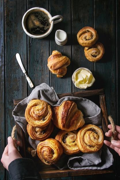 パフペストリーパン Premium写真