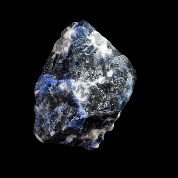 Сырой камень содалит Premium Фотографии