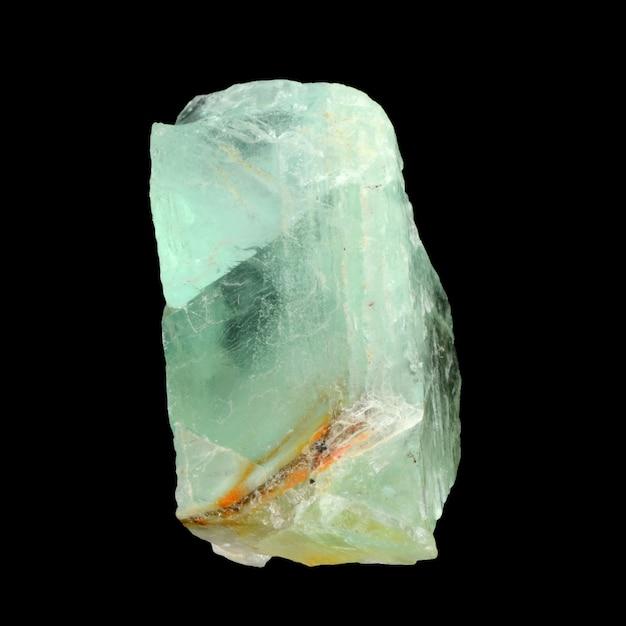 Сырой зеленый флюорит Premium Фотографии