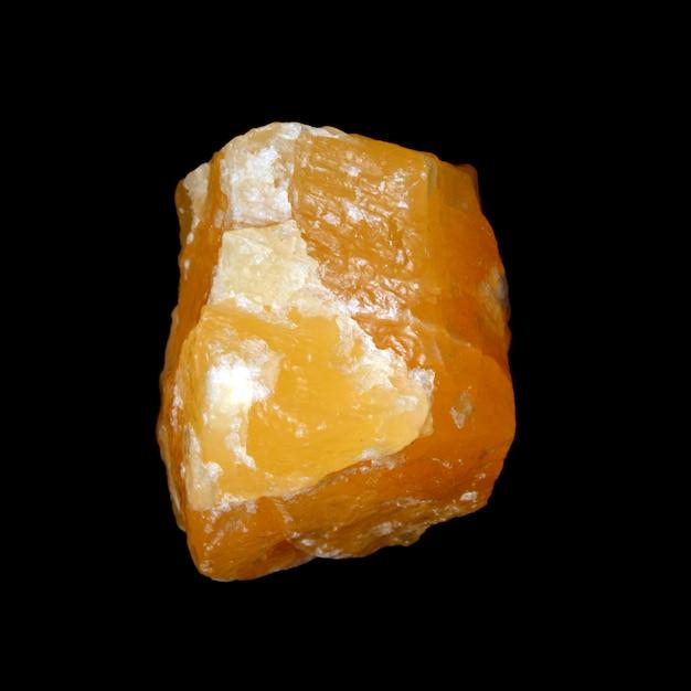 Сырой желтый кальцит Premium Фотографии