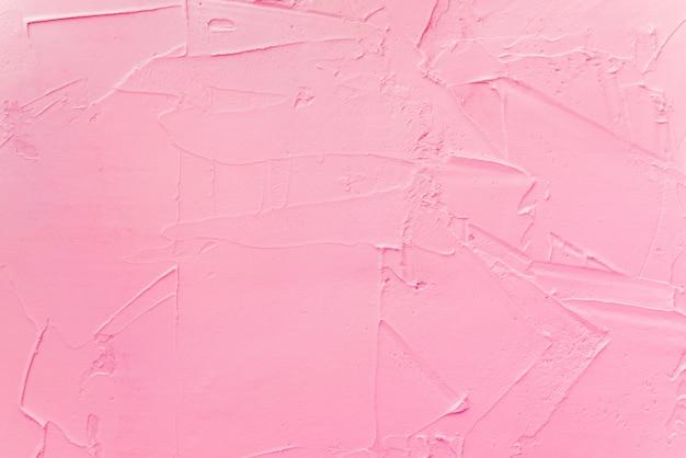 ストロベリーアイスクリームのテクスチャ背景 Premium写真