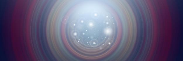 スピンサークルの放射状のモーションブラーの抽象的な背景。モダンなグラフィックデザインとテキストの背景。 Premium写真