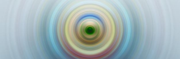Концентрические круги вокруг центральной точки Premium Фотографии
