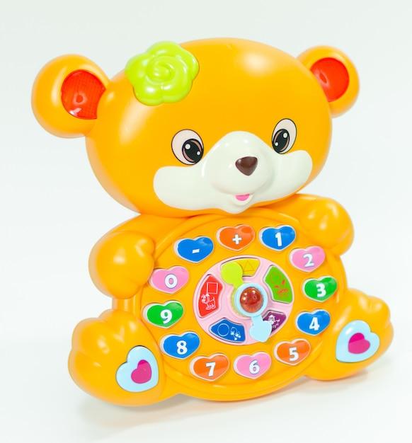 Детская развивающая игрушка для детей. Premium Фотографии