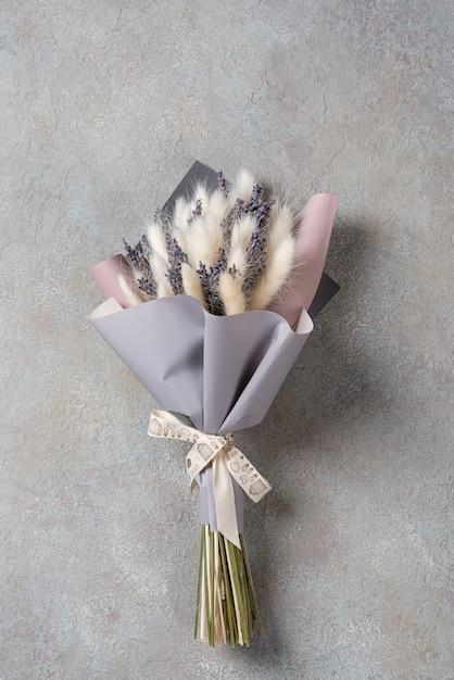 ラベンダーの小さな花束 Premium写真