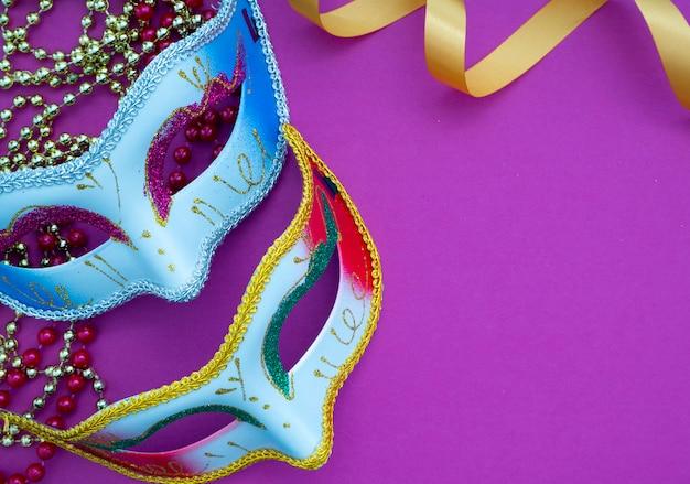 お祝いマルディグラベネチアンカーニバル Premium写真