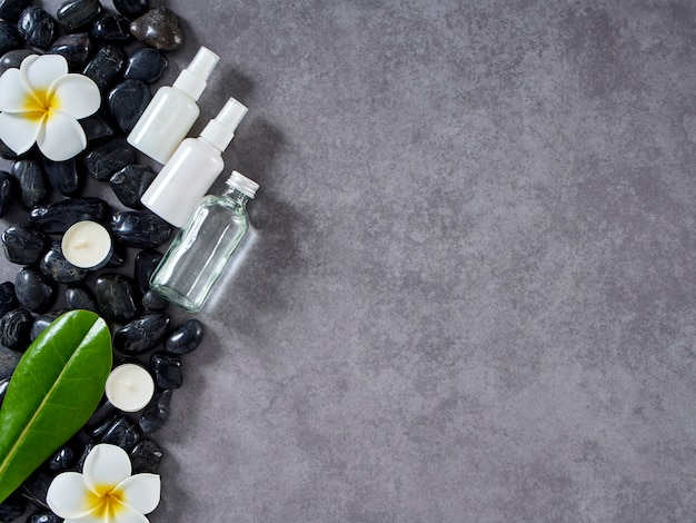 Концепция спа-массажа и ухода за кожей Premium Фотографии