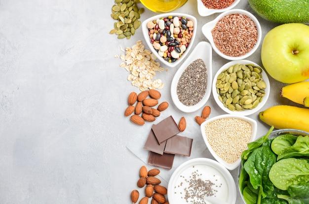 健康食品栄養ダイエットのコンセプト Premium写真