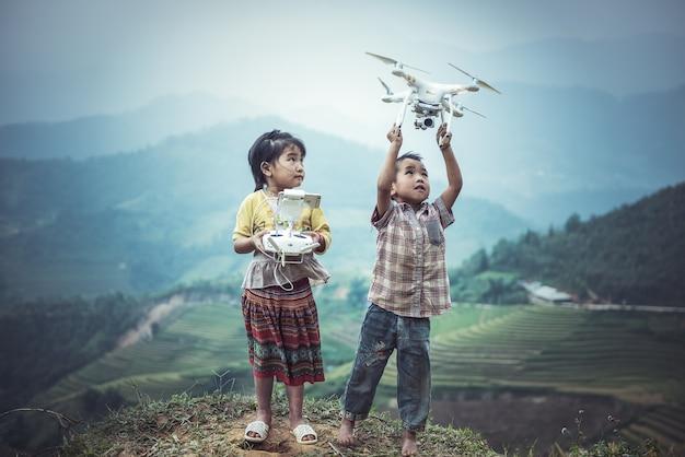 誰もが飛ぶことができます Premium写真