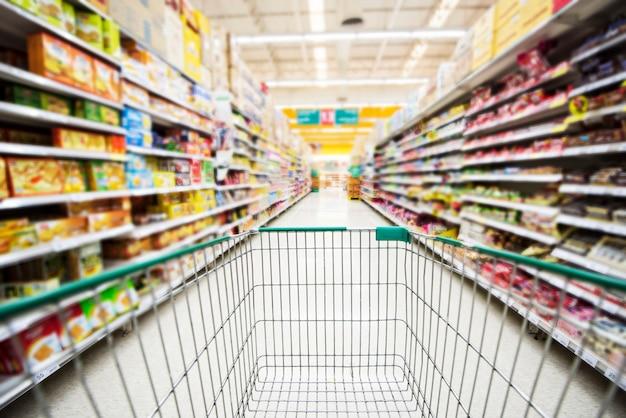 スーパーマーケット Premium写真