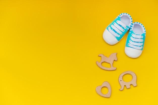Детские аксессуары для новорожденных Premium Фотографии