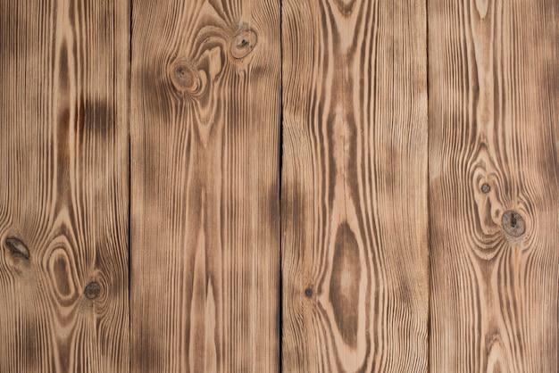 傷や亀裂を持つ木の質感 Premium写真