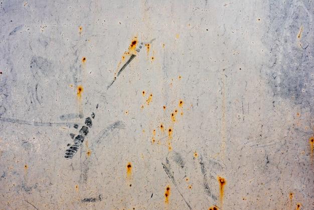 傷や亀裂を持つ金属の質感 Premium写真
