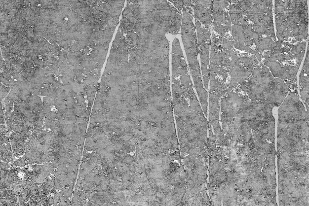ひび割れや傷のあるコンクリートの壁 Premium写真