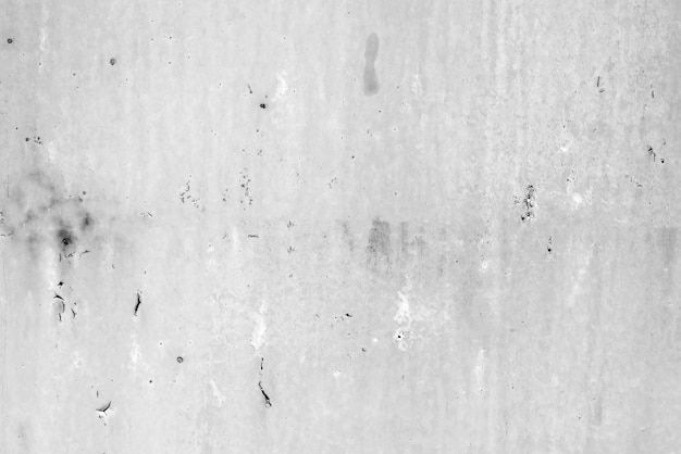 テクスチャ、金属、壁の背景。傷や亀裂のある金属の質感 Premium写真