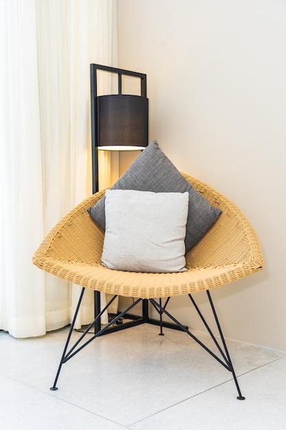 椅子の枕 無料写真