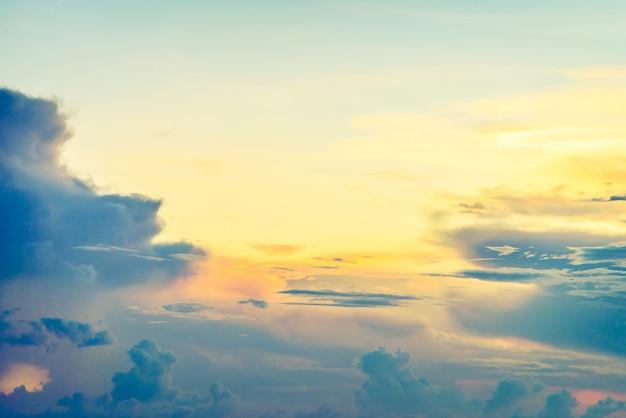 空の上にヴィンテージの雲 無料写真