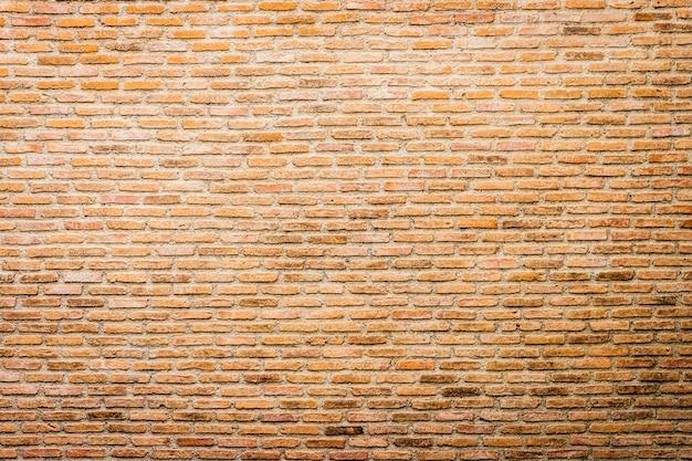 レンガの壁のテクスチャの背景 無料写真
