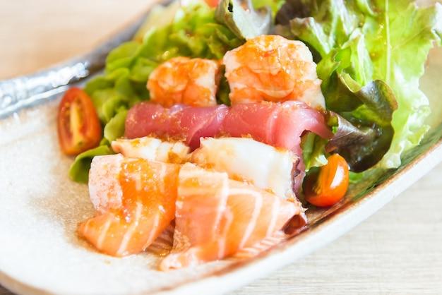 刺身サラダ 無料写真