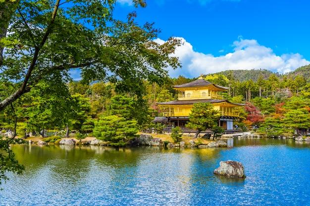 京都の金閣寺の美しい金閣寺 無料写真