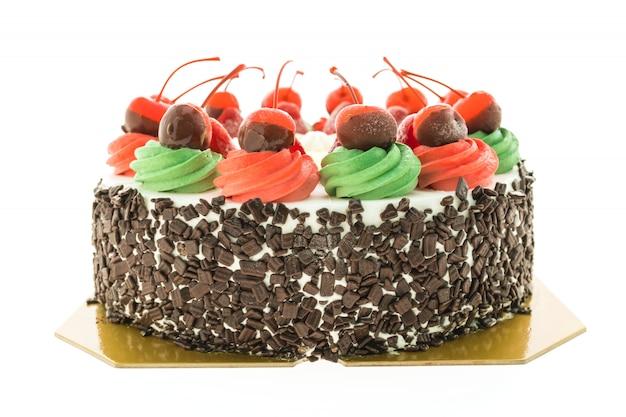 Торт с мороженым и рождественской темой Бесплатные Фотографии