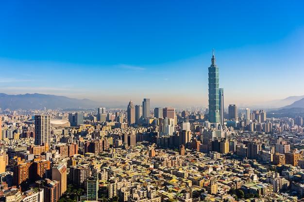 Красивое здание архитектуры город тайбэй Бесплатные Фотографии