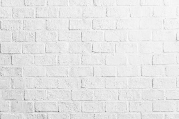 白いレンガの壁のテクスチャ背景 無料写真