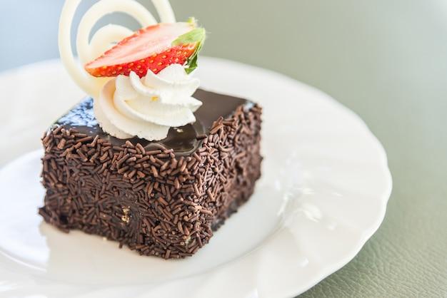 デザートチョコレートケーキ 無料写真