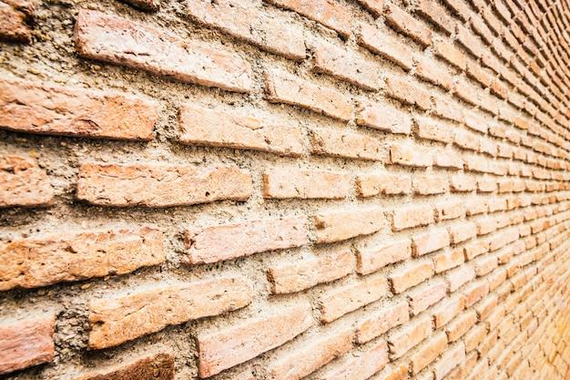 レンガの壁のテクスチャ背景 無料写真