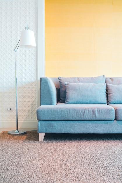 装飾のリビングルームのインテリア 無料写真