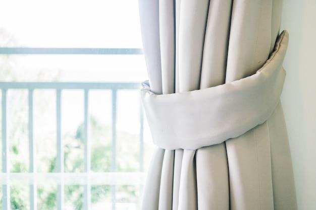 カーテン窓 無料写真