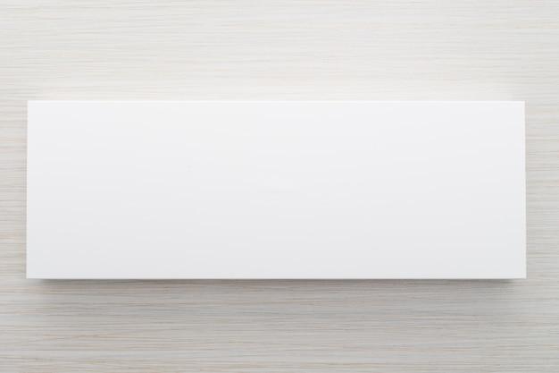 モックアップ用のホワイトボックス 無料写真