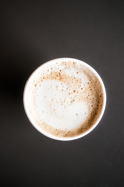 カフェラテコーヒーカップ 無料写真